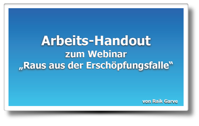 Arbeits-Hanout zum Webinar