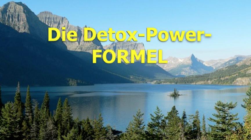 Die Detox-Power-FORMEL